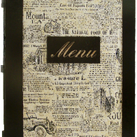 "Karta menu ""gazeta"""