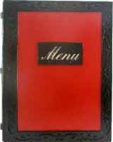 "Karta menu ""ornament"""